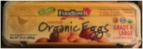 Foodtown Organic Eggs